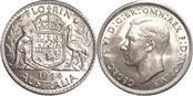 AUSTRALIA Silver Coin 1944 FLORIN